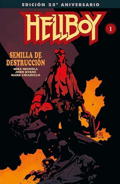 Hellboy: Semilla de destrucción 01 - Edición gigante especial 25 aniversario