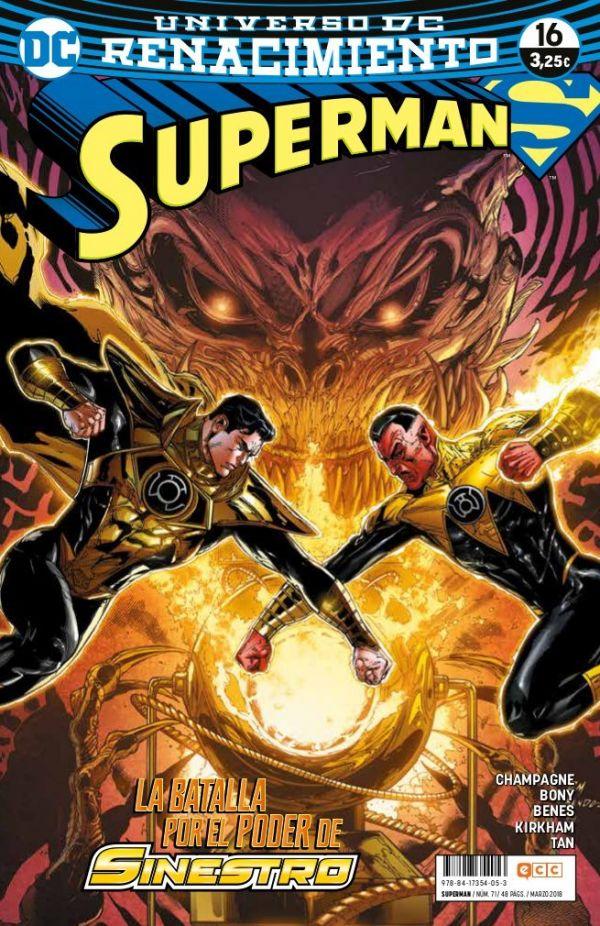 Superman núm. 16 (Renacimiento)
