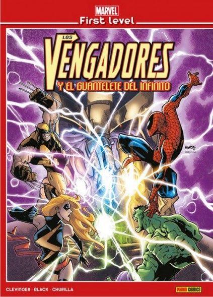 MARVEL FIRST LEVELO 01: LOS VENGADORES Y EL GUANTELETE DEL INFINITO