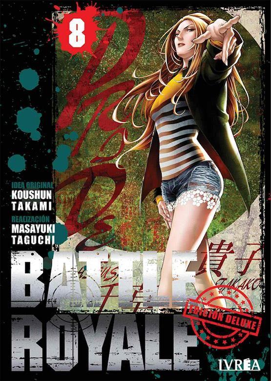 BATTLE ROYALE. EDICIÓN DELUXE 08