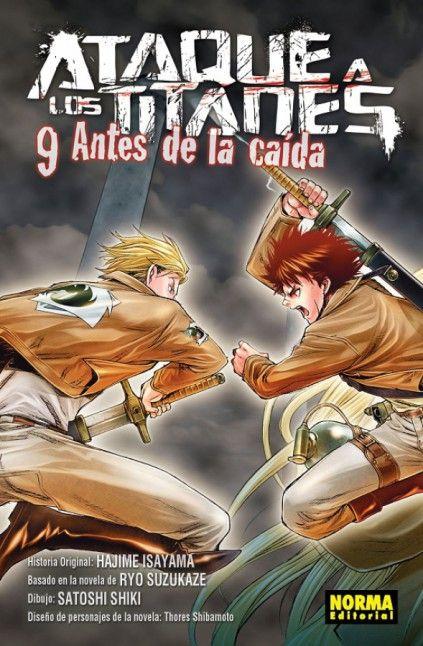 ATAQUE A LOS TITANES. ANTES DE LA CAÍDA 09