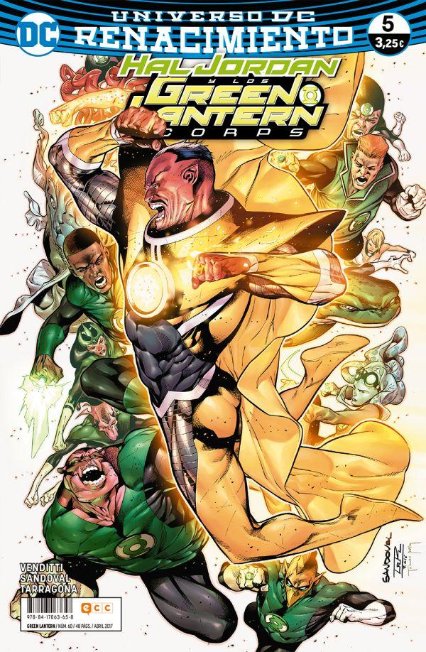 Green Lantern núm. 05 (Renacimiento)