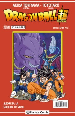 DRAGON BALL SUPER. SERIE ROJA 02