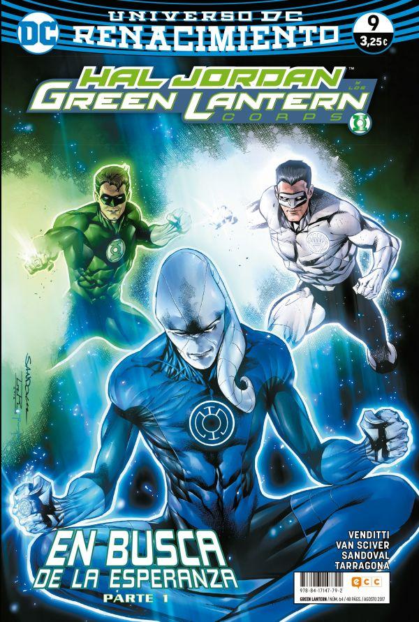 Green Lantern núm. 09 (Renacimiento)