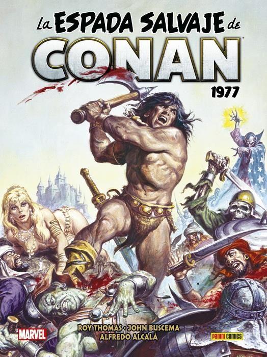 La Espada Salvaje de Conan Magazine 03. 1977 (Marvel Omnibus)