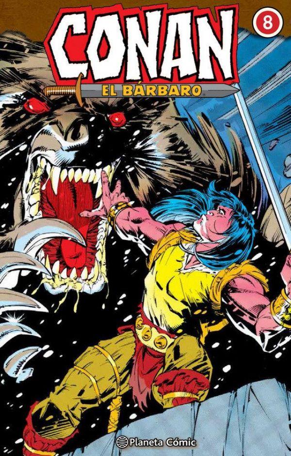 CONAN EL BÁRBARO INTEGRAL 08 (DE 10)