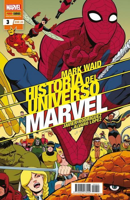 Historia del Universo Marvel 03 (Edición normal)