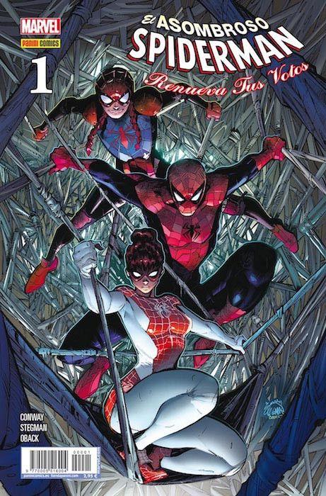 El Asombroso Spiderman: Renueva Tus Votos  01