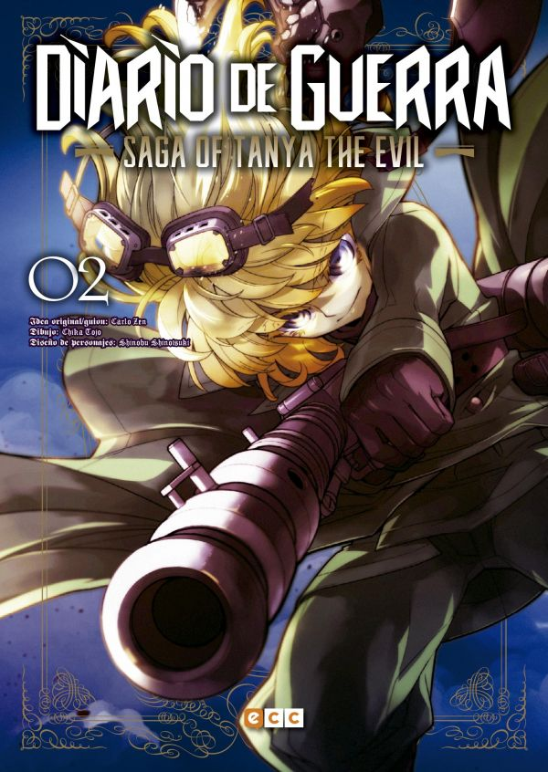 Diario de guerra - Saga of Tanya the evil 02