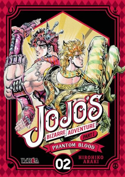 JOJO'S BIZARRE ADVENTURE. PART I : PHANTOM BLOOD 02