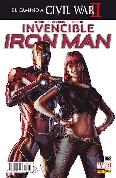 INVENCIBLE IRON MAN 68