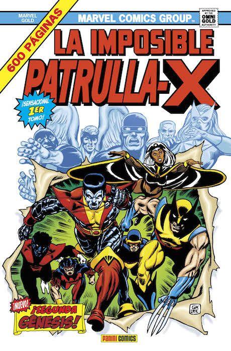 LA IMPOSIBLE PATRULLA-X 01: SEGUNDA GÉNESIS (MARVEL GOLD)