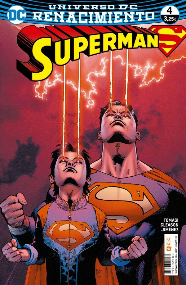 Superman núm. 04 (Renacimiento)