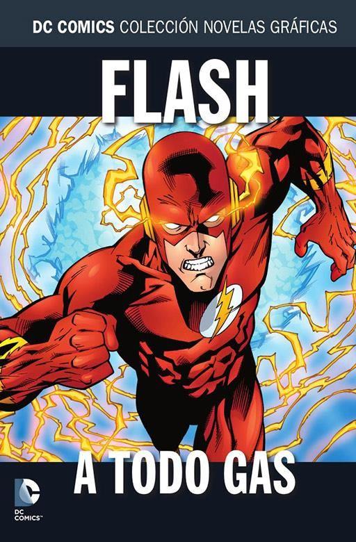 Colección Novelas Gráficas 98: Flash: A todo gas