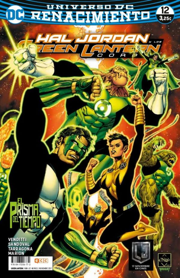 Green Lantern núm. 12 (Renacimiento)