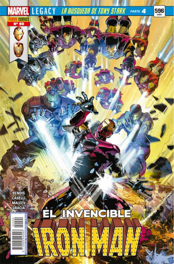 EL INVENCIBLE IRON MAN 90