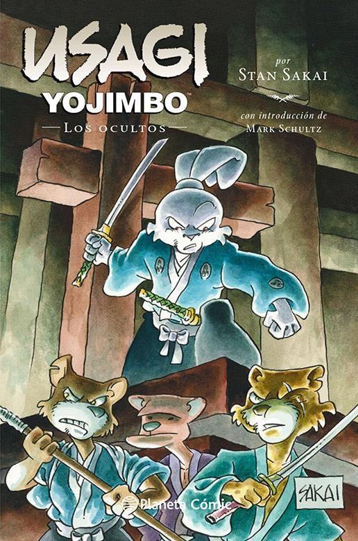 Usagi Yojimbo 33: Los ocultos