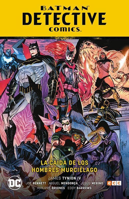 Batman: Detective Comics vol. 06. La caída de los hombres murciélago