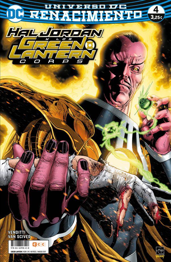 Green Lantern núm. 04 (Renacimiento)
