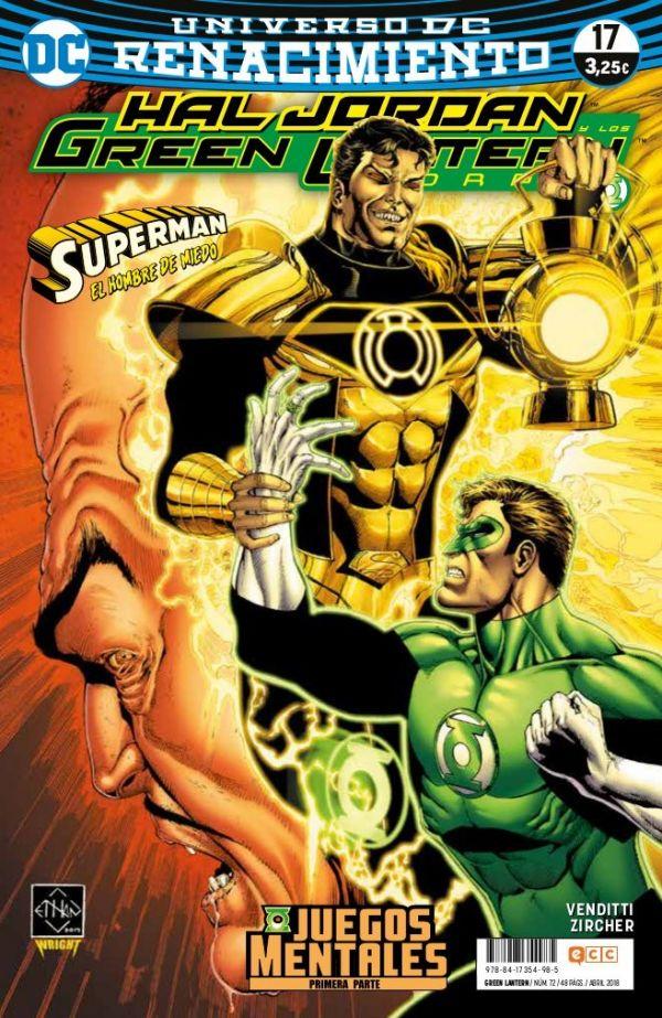 Green Lantern núm. 17 (Renacimiento)