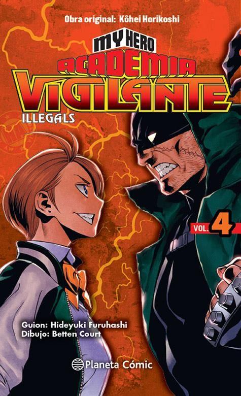 My Hero Academia Vigilante Illegals 04