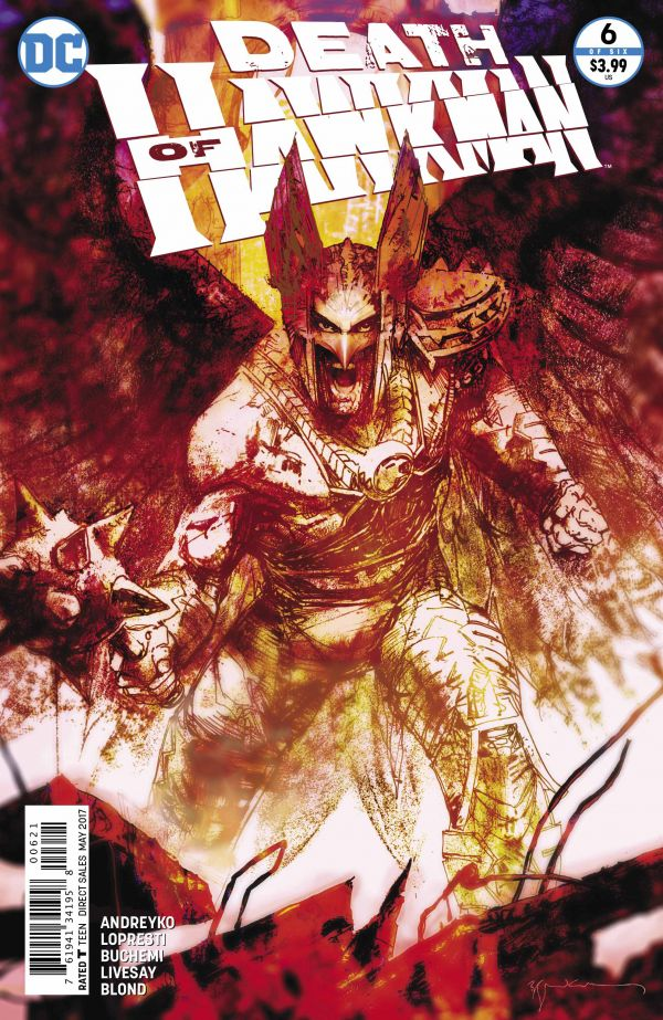 DEATH OF HAWKMAN #6 (OF 6) VAR ED