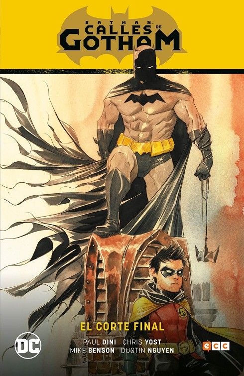 BATMAN SAGA BATMAN CALLES DE GOTHAM  01 EL CORTE FINAL