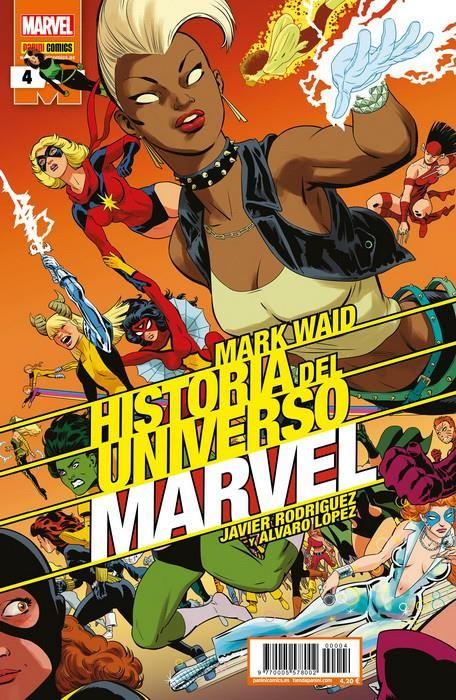 Historia del Universo Marvel 04 (Edición normal)