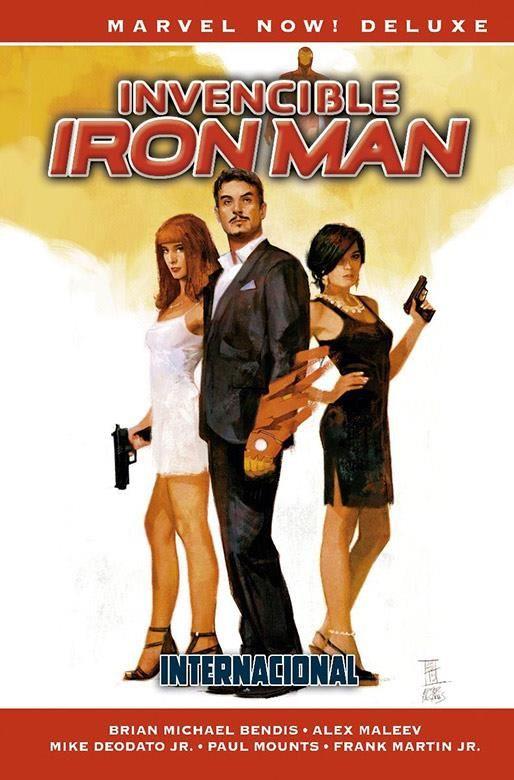 Invencible Iron Man 02. Internacional (Cómic Marvel Now! Deluxe)