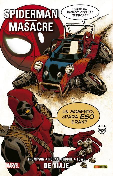 Spiderman / Masacre. De viaje