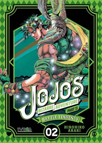 JOJO'S BIZARRE ADVENTURE. PART II : BATTLE TENDENCY 02
