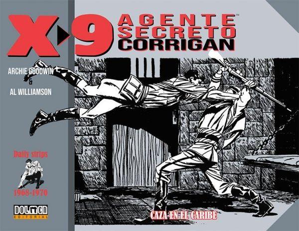 X-9. Agente secreto Corrigan (1968-1970)