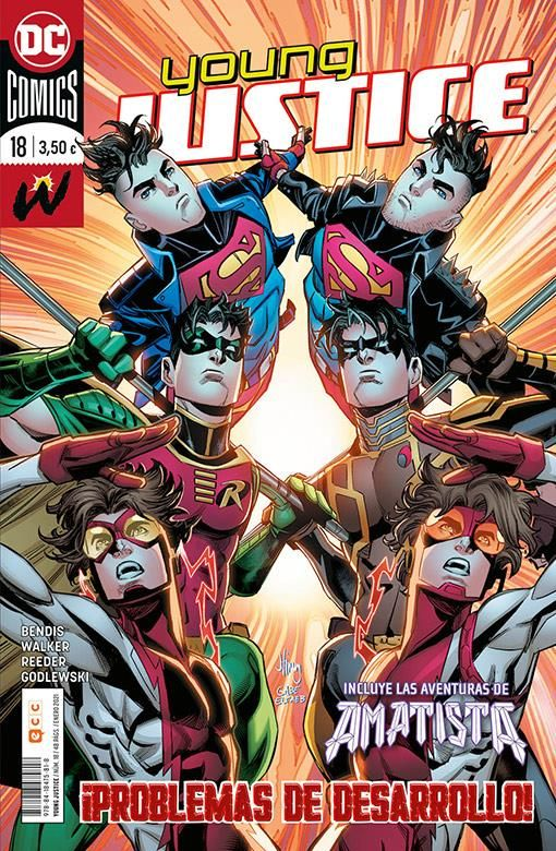 YOUNG JUSTICE 18