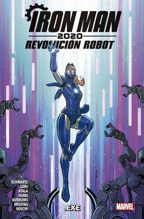 Iron Man 2020. Revolución Robot 2: .exe