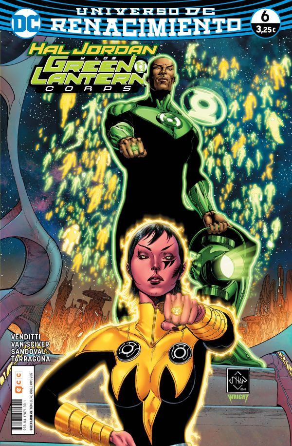 Green Lantern núm. 06 (Renacimiento)