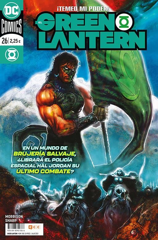 EL GREEN LANTERN 26