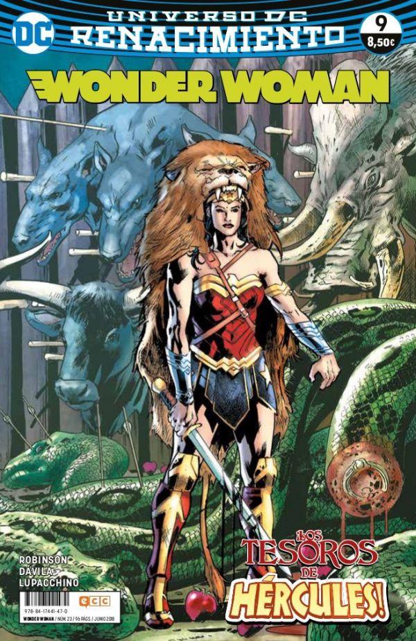 Wonder Woman núm. 09 (Renacimiento)