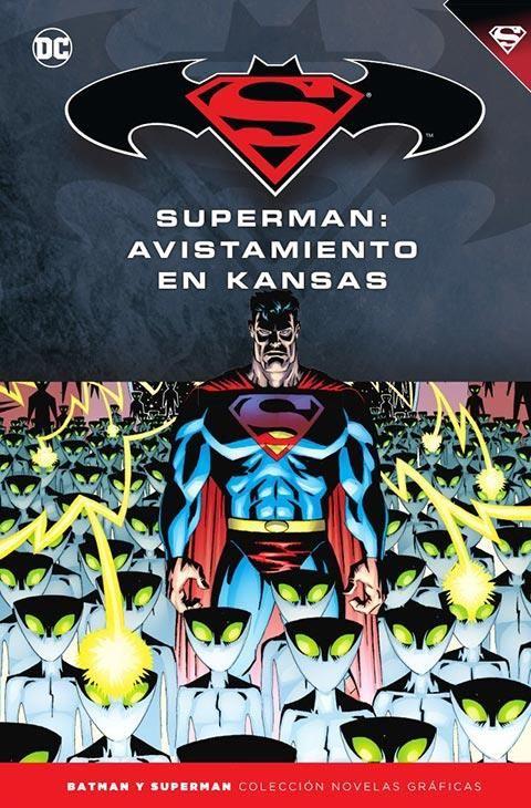 Batman y Superman - Colección Novelas Gráficas núm. 57: Superman. Avistamiento en Kansas