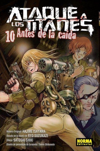 ATAQUE A LOS TITANES. ANTES DE LA CAÍDA 10