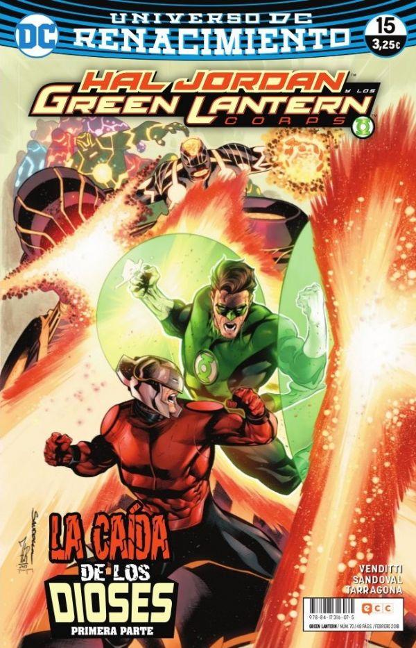 Green Lantern núm. 15 (Renacimiento)