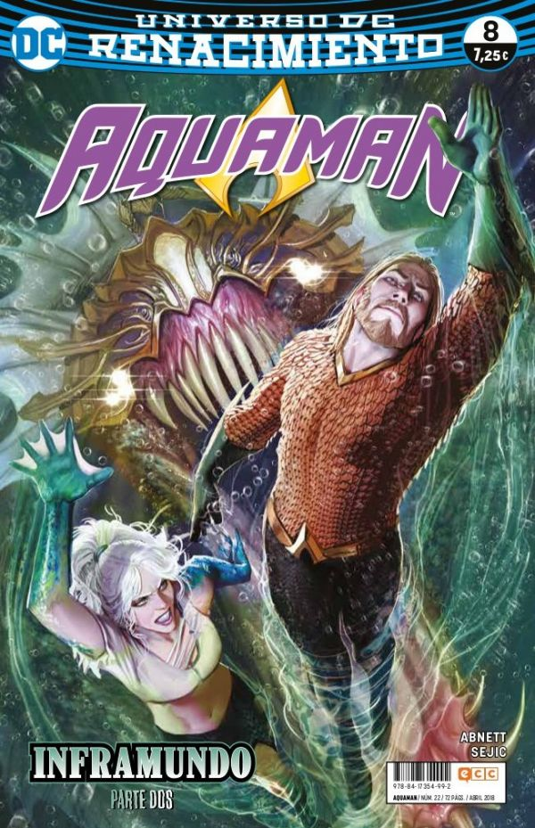 Aquaman núm. 08 (Renacimiento)