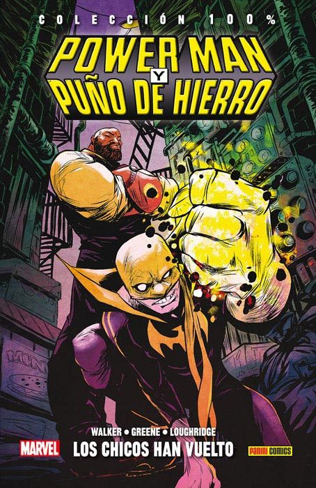 100% MARVEL HC. POWER MAN Y PUÑO DE HIERRO 01