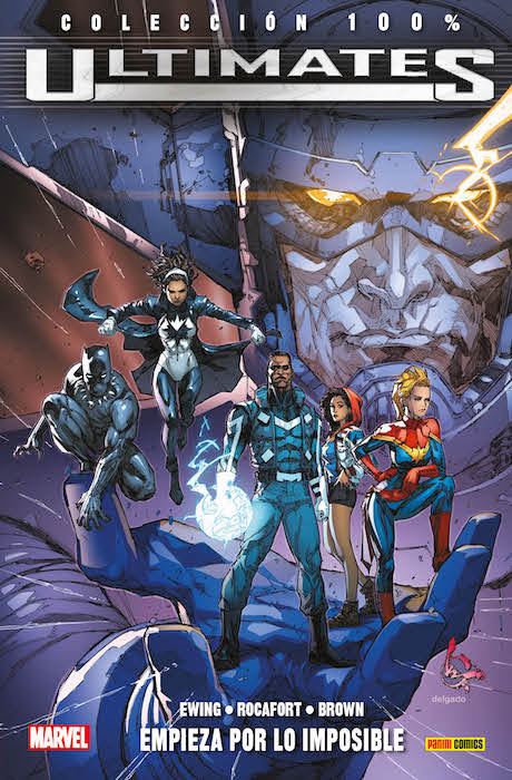 100% Marvel. Ultimates 01
