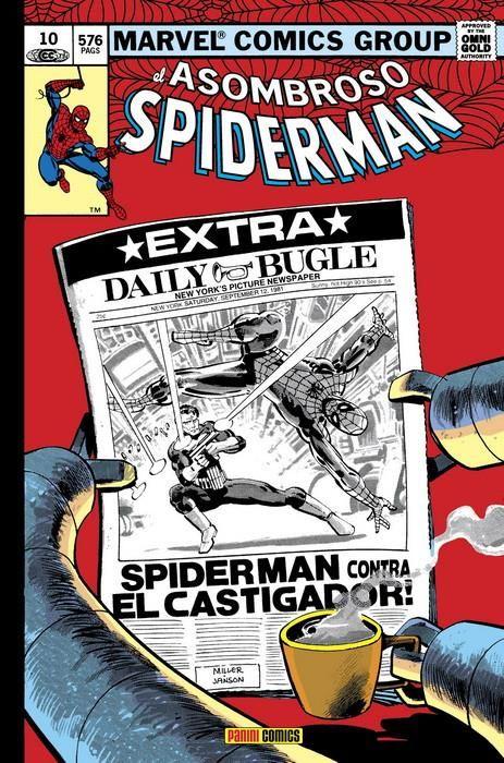 El asombroso Spiderman 10. ¿Héroe o amenaza? (Omnigold)
