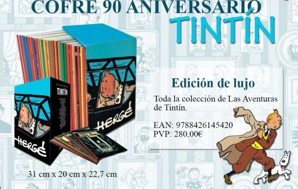 COFRE 90 ANIVERSARIO DE TINTÍN