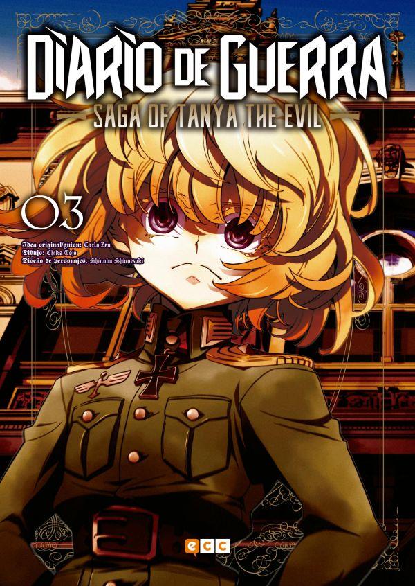 Diario de guerra - Saga of Tanya the evil 03