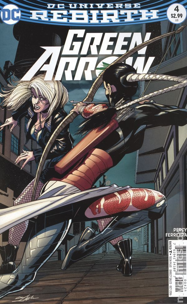 GREEN ARROW #4 (PORTADA VARIANTE DE NEAL ADAMS)