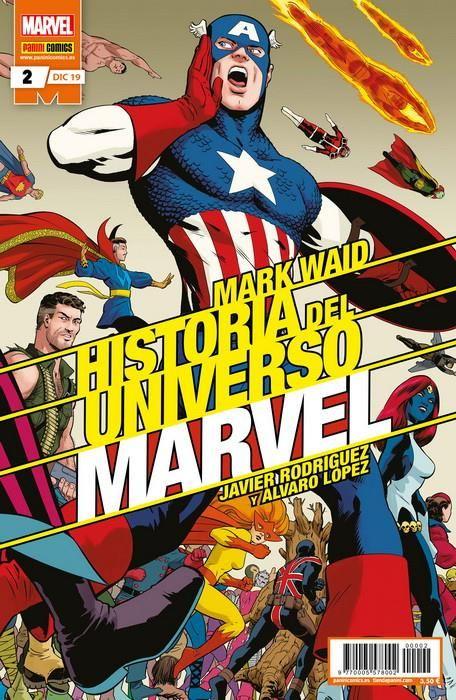 Historia del Universo Marvel 02 (Edición normal)