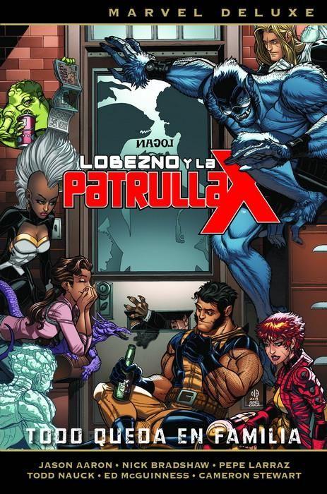 MARVEL DELUXE. LOBEZNO Y LA PATRULLA-X 05