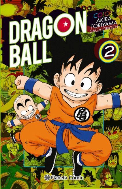 DRAGON BALL COLOR. SAGA ORIGEN 02